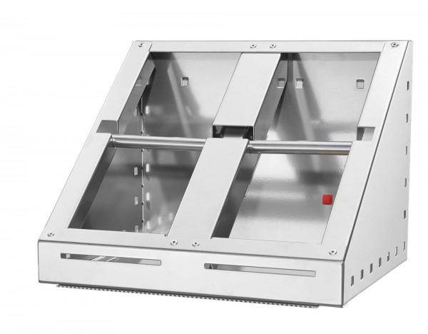 RasterPlan/ABAX Schleifpapier-Abrollhalter, alufarben.