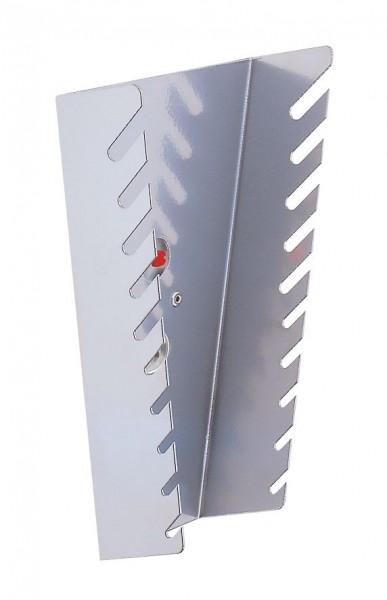 RasterPlan Schraubenschlüsselhalter, senkrecht alufarben für 10 Schlüssel.