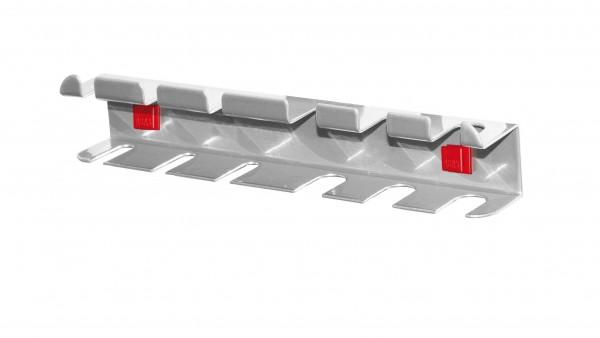 ®RasterPlan/ABAX® Schraubendreherhalter Für 6 Teile Alufarben