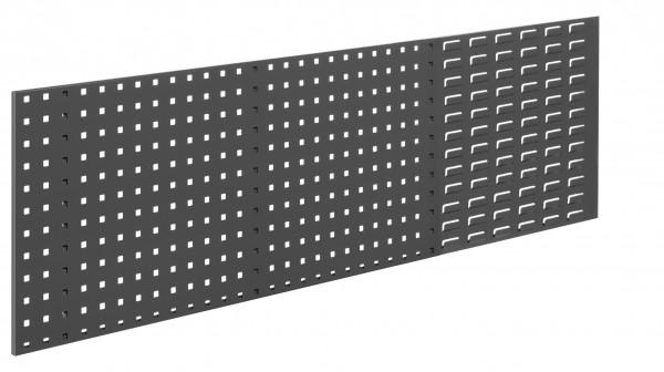 ®RasterPlan Kombiplatte RAL 7016, B1500 x H450 mm. 1/3 SP 2/3 LP.