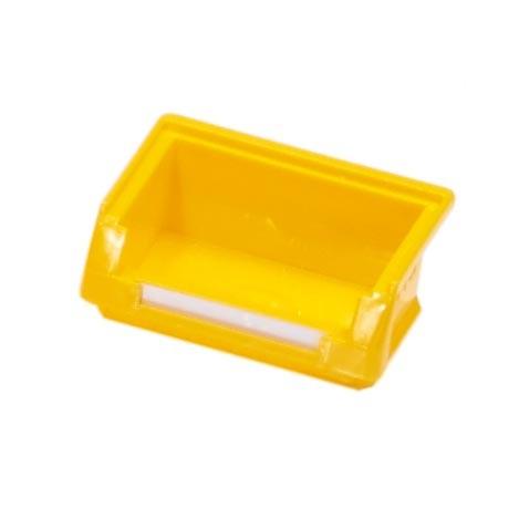 RasterPlan Lagersichtkasten Gr. 8 gelb, 85 x 105 x 45 mm.