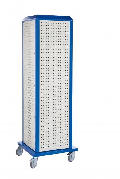 RasterPlan ToolTower groß Mod 1, mobil, RAL 7035/5010. 4 LP außen groß.