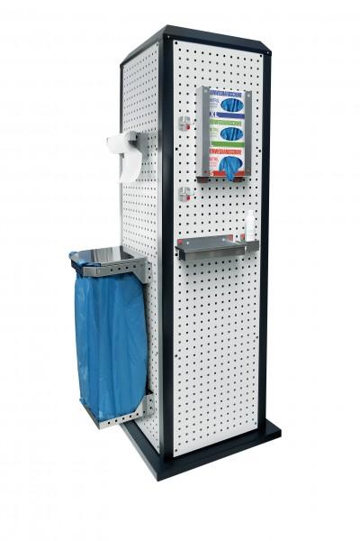 RasterPlan ToolTower groß Mod 2 stationär RAL 7035/7016