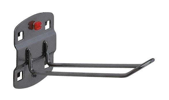 RasterPlan Werkzeughalter für SB-Ver packungen L125 x B 30 mm, anthrazitgrau.