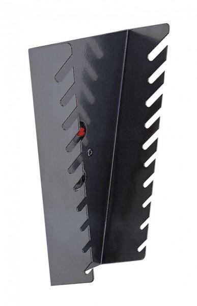 RasterPlan Schraubenschlüsselhalter, senkrecht anthrazitgrau für 10 Schlüssel.
