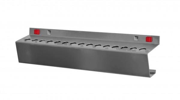 RasterPlan/ABAX Werkzeughalter für MK2, B395 x T60 mm, anthrazitgrau.