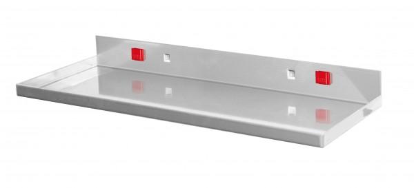 RasterPlan/ABAX Ablageplatte 350 x 125 mm, alufarben.
