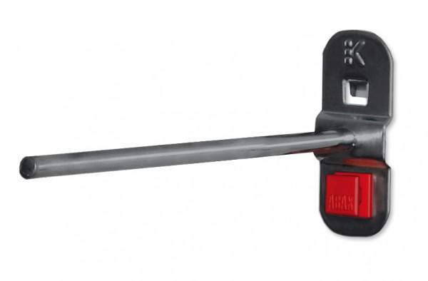 RasterPlan/ABAX Werkzeughalter gerader Dorn, 150 mm, anthrazitgrau.