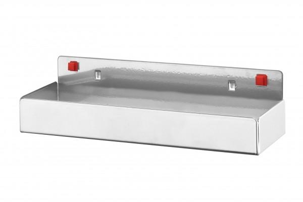 ®RasterPlan/ABAX® Ablagebox, klein Breite 250 mm x Tiefe 80 mm x Höhe 35 mm Alufarben