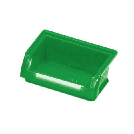 ®RasterPlan Lagersichtkasten Größe 8 Mit Aufhängeleiste für ®RasterPlan Schlitzplatten Grün L 85 mm x B 105 mm x H 45 mm