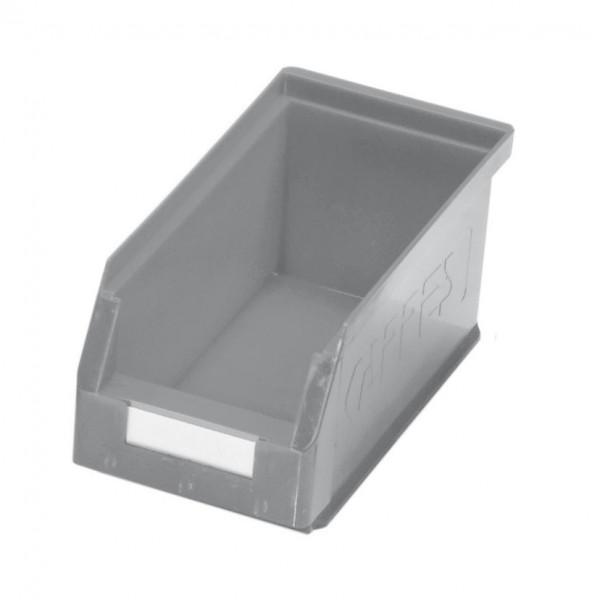 ®RasterPlan Lagersichtkasten Größe 5 Mit Aufhängeleiste für ®RasterPlan Schlitzplatten Grau L 290 mm x B 140 mm x H 130 mm