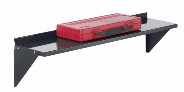 RasterPlan Stahlboden 950 x 220 mm, anthrazitgrau für Schlitzplatte.