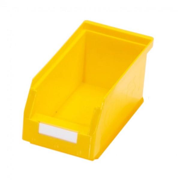 RasterPlan Lagersichtkasten Gr. 5 gelb, 290 x 140 x 130 mm.