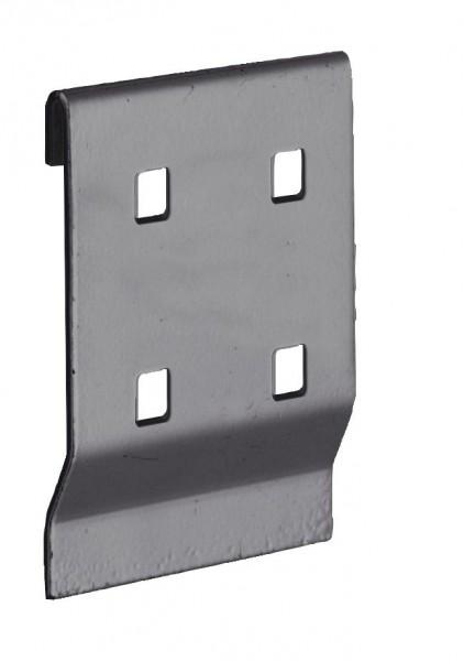 ®RasterPlan Adapter für Lochplatten-Werkzeughalter an Schlitzplatte, anthrazitgrau.