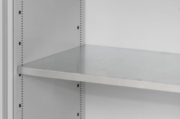 RasterPlan Fachboden 530 mm verzinkt, für Großvolumenschrank inkl. Bodenträger.