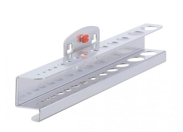 ®RasterPlan Bohrer- / Innensechskanthalter Für 14 Teile Alufarben