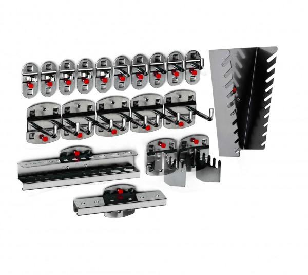 RasterPlan Werkzeughalter-Sortiment, 20-teilig anthrazitgrau.